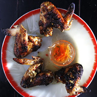 Coriander and Lime Chicken Wings.