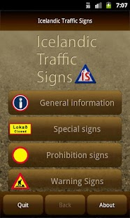 Icelandic Traffic Signs- screenshot thumbnail