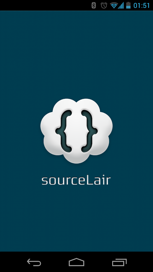 sourceLair - screenshot