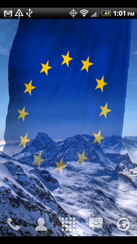 EU Flags Free Live Wallpaper - screenshot