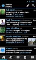 Screenshot of Echofon PRO for Twitter