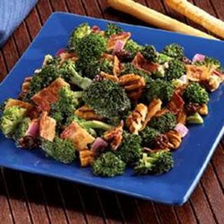 Bacon Broccoli & Raisin Salad.