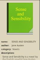 Screenshot of SENSE AND SENSIBILITY