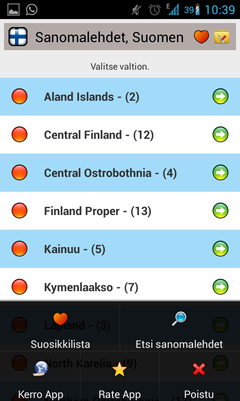 All Newspapers of Finland-Free - screenshot
