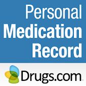 Personal Medication Record