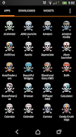Screenshot of Skull icon modification pack