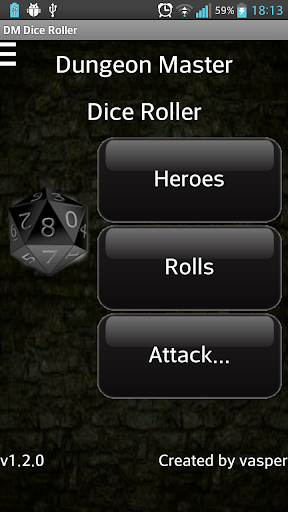 Dungeon Master Dice Roller Pro