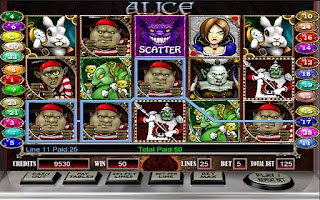 Screenshot of Alice - HD Slot Machine