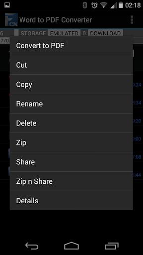 【免費商業App】Word to PDF Converter-APP點子