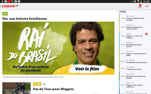 L'Equipe.fr : foot, rugby Screenshot 8