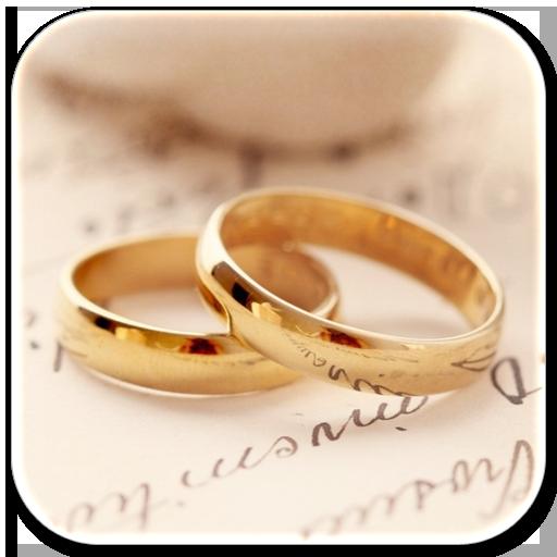 浪漫結婚對戒動態壁紙屏幕鎖 社交 App LOGO-APP試玩