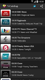 TVCatchup Screenshot 1