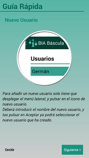 BIA Báscula - Control de peso