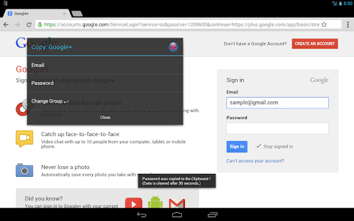Password Manager ID Notebook L - screenshot thumbnail