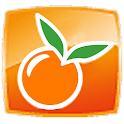 Orange apex / Go Launcher EX logo