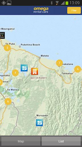 Omega Travel Guide New Zealand