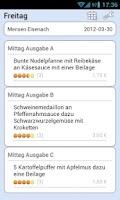 Screenshot of Mensa Eisenach