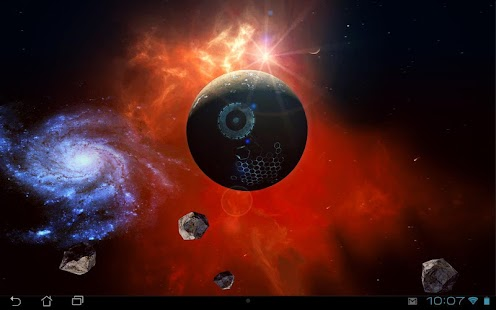 Space Symphony 3D Pro LWP - screenshot