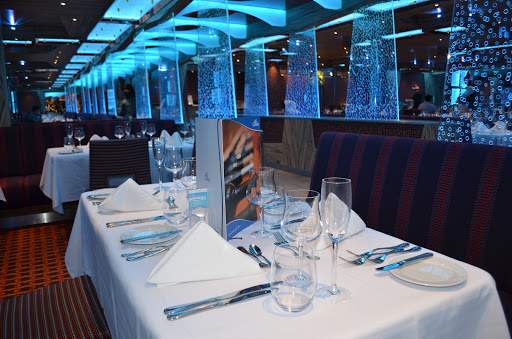 Costa-Diadema-dining-restaurant - Costa Diadema cruisers' dining options run from the elegant to the casual.