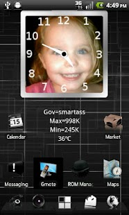 PhotoFrame Clock - screenshot thumbnail