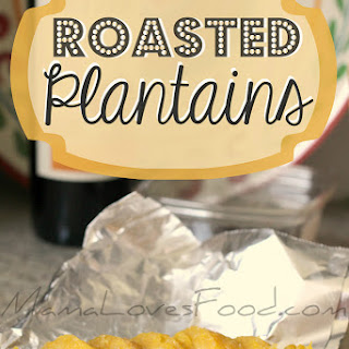 How to Roast a Plantain