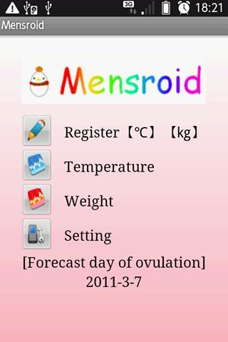 Mensroid- screenshot