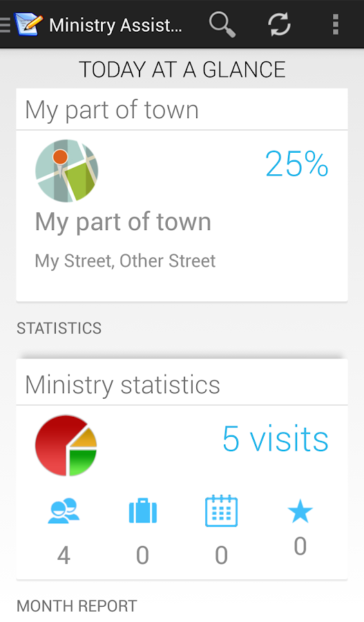 Ministry Assistant - screenshot