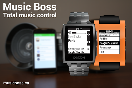 Music Boss for Pebble