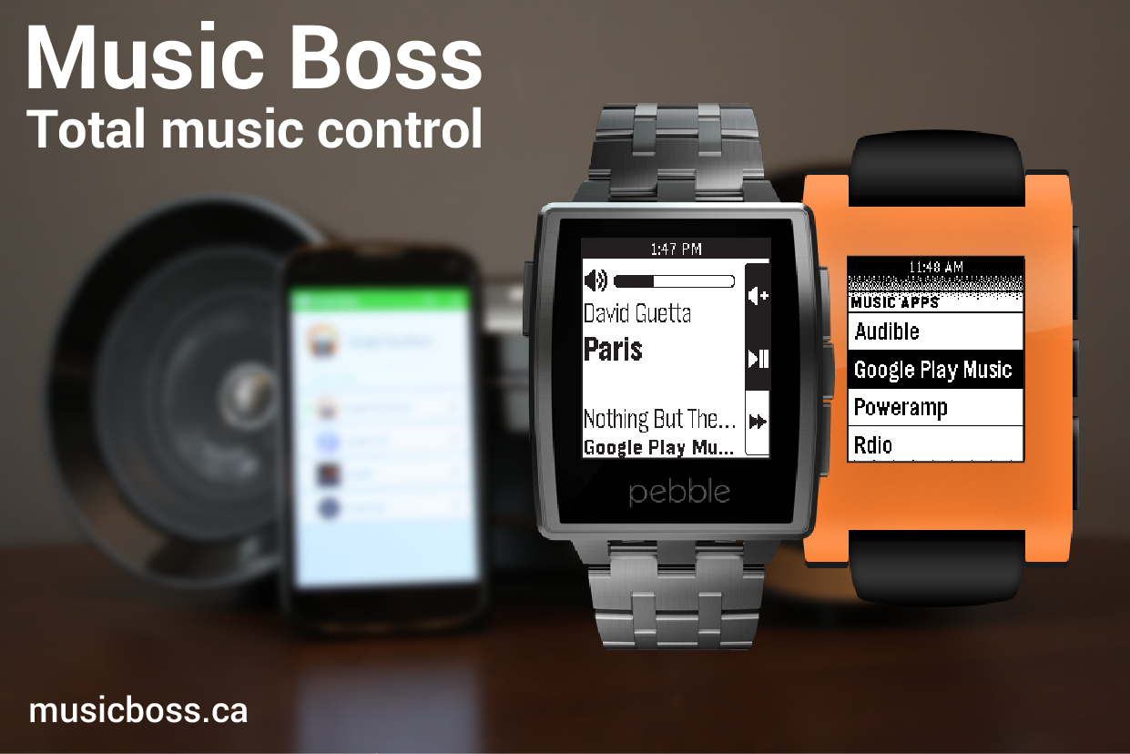 Music Boss for Pebble - screenshot