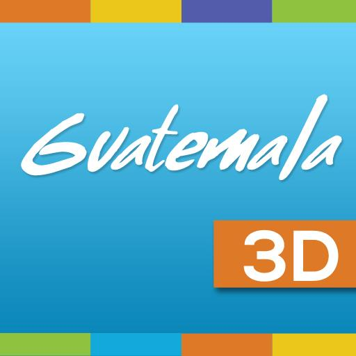 旅遊必備App|Guatemala 3D LOGO-綠色工廠好玩App