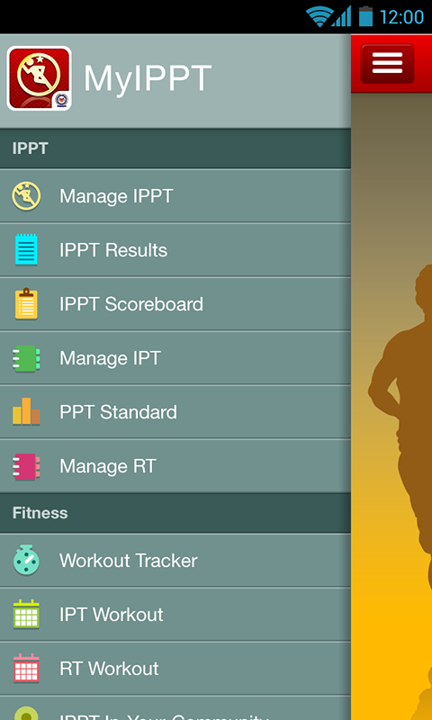MyIPPT - screenshot