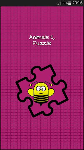 Animals 1 Puzzle Game