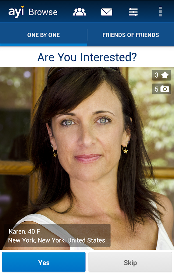 AYI - AreYouInterested Dating - screenshot