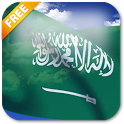 3D Saudi Arabia Flag LWP icon