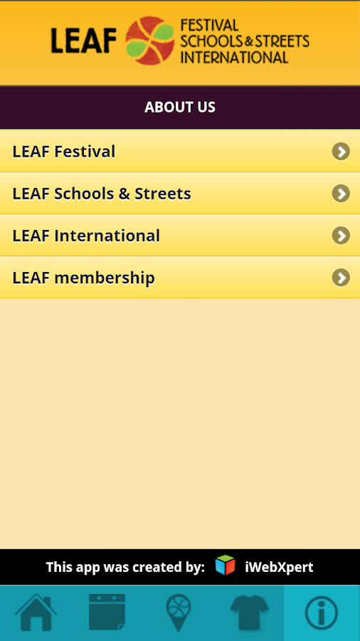 LEAF Festival 2013 - screenshot