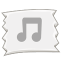 MP3 music Download Clip icon