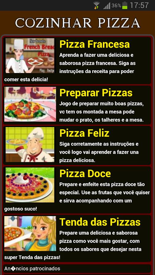 Jogos de Cozinhar Pizza - screenshot