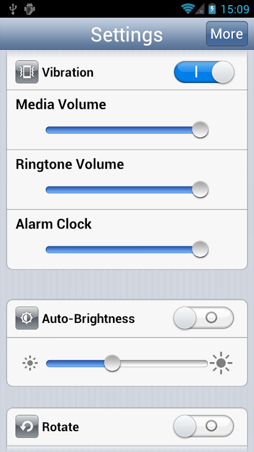 Settings Pro - iPhone Style - screenshot