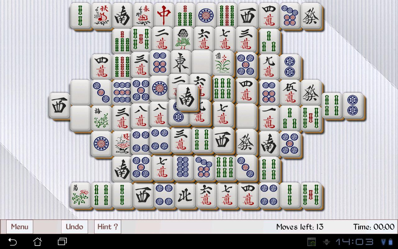 Tablet Mahjong- screenshot