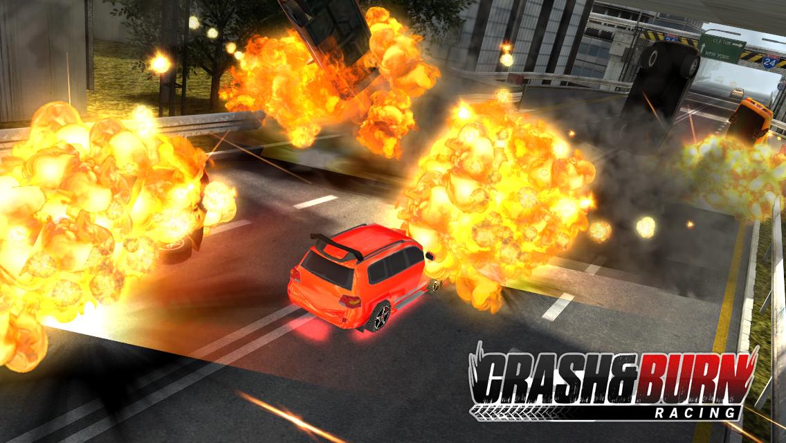 Crash and Burn Racing screenshot #5