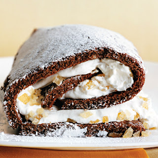 Bumble's Ginger Roulade.