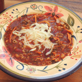 Slow Cooker Pasta Fagioli (Small Batch).