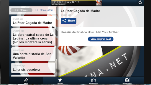 【免費新聞App】La Letrina-APP點子