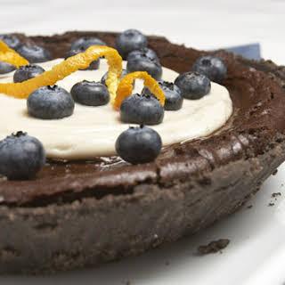Dreena's Chocolate Pumpkin Pie.