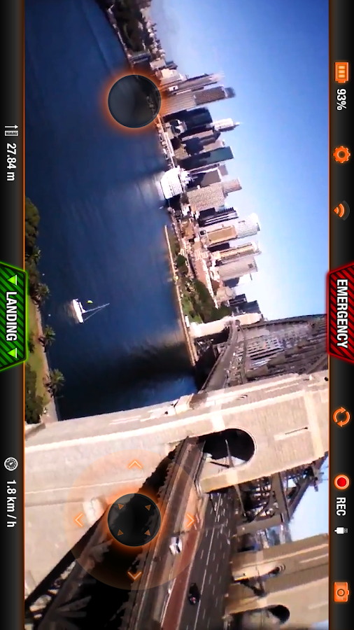 AR.FreeFlight 2.4.10- screenshot