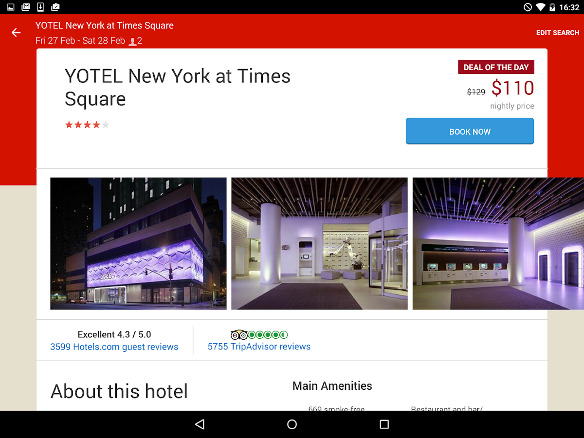 Hotels.com – Hotel Reservation - screenshot