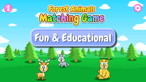 Forest Animals - Matching Game