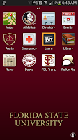 Screenshot of myFSU Mobile