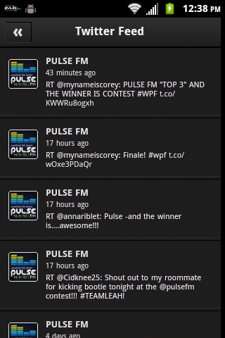 PULSE FM- screenshot