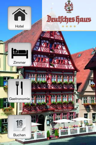 Hotel-Restaurant DeutschesHaus - screenshot